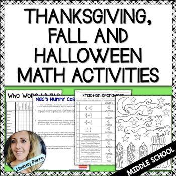 15 best thanksgiving school images on pinterest math middle school math teacher and. Black Bedroom Furniture Sets. Home Design Ideas