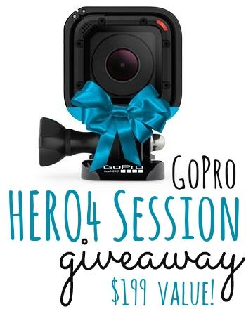 GoPro HERO4 Session Giveaway #1