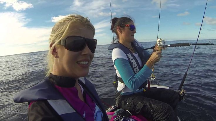 Chicks fish on a jetski - ReelChixFish TV