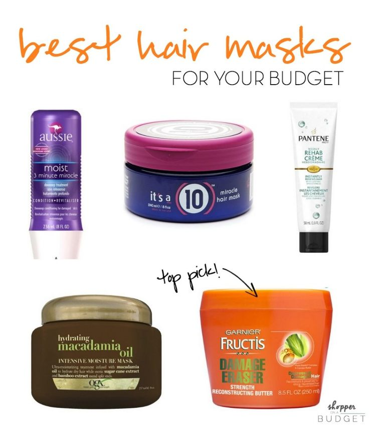 The best hair masks for EVERY budget | ShopperOnABudget.com