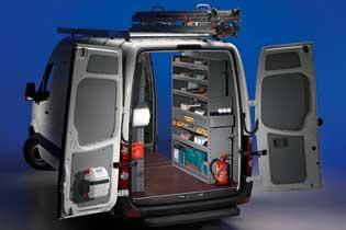Modello di Officina Mobile Store Van per Volkswagen Crafter