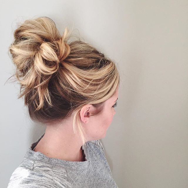 Five Cute And Easy Bun Hairstyles For When You're In A Hurry