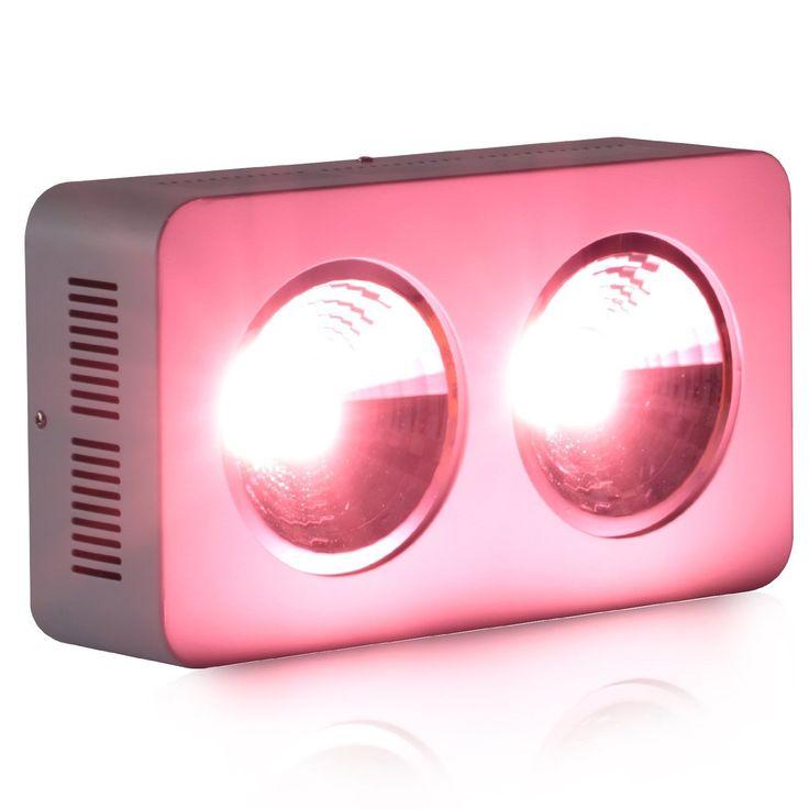 Roleadro 400w COB LED Grow Light Pflanzenlampe Vollspektrum für Homegrow Planzen Blumen und…