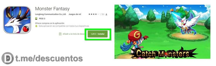 Videojuego Monster Fantasy para Android GRATIS - http://ift.tt/2ptzvqL