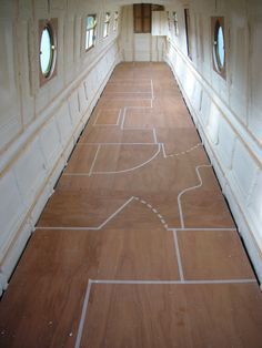 Narrow boat insulation