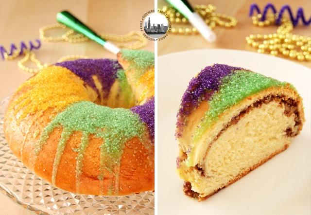 King Cake! Il dolce per il carnevale di New Orleans.