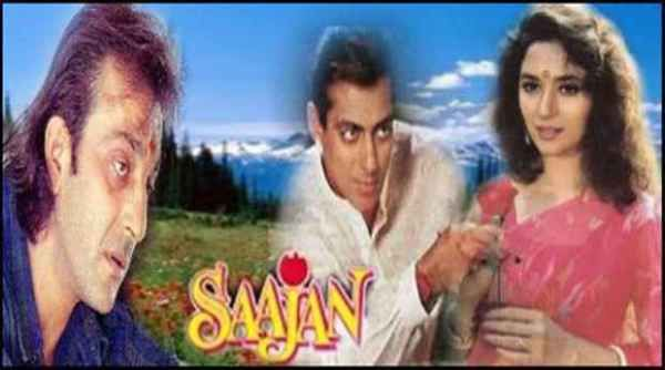 25 years ago, on this date, a movie called 'Sajaan' was released. The Indian romantic film was one of the most beloved films that starred Sanjay Dutt, Salman Khan and Madhuri Dixit.