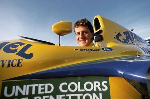 https://flic.kr/p/Fgzu9m | Michael Schumacher Benetton 1992 #F1 #Benetton #MichaelSchumacher