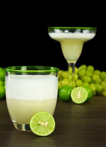 Le pisco qu'on utilise pour ce cocktail est une eau-de-vie populaire au Chili.