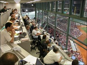 Being in the Press Box at Fenway is a dream come true. But don't forget the unwritten rules of being in the sports media http://bit.ly/ghJxqz