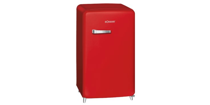 How cool is this fridge? It's on sale! Get your unique retro-style fridge by German high-quality brand Bomann now!