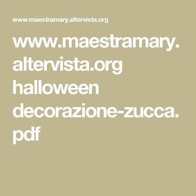 www.maestramary.altervista.org halloween decorazione-zucca.pdf