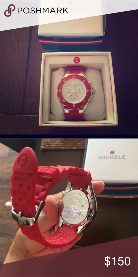 Michele ⌚️ Michele 💯 authentic watch, new, never used, comes with box, warranty card. 40mm face Michele Accessories Watches