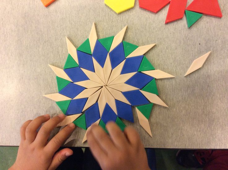 Create with pattern blocks