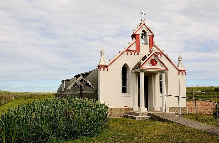 Italienische Gefangene errichteten auf Lamb Holm Orkney Inseln... von enner aus de palz