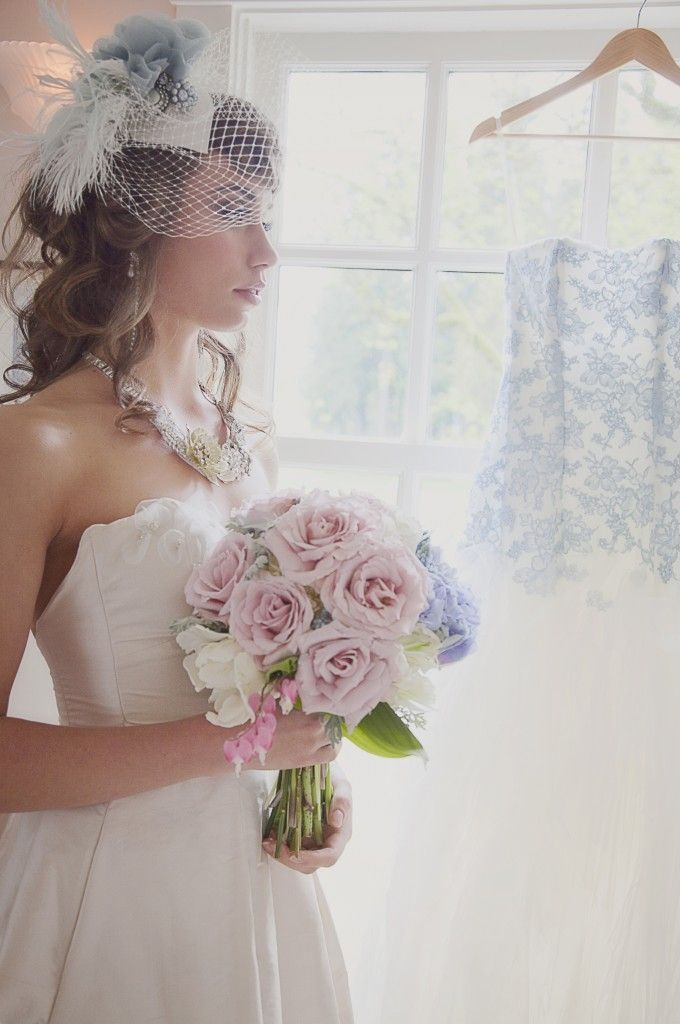 Fairytale Wedding Editorial | Part 2 | Wedding Planning Vancouver | Kailey Michelle Events photos by FRESH photos   #vintage #Bride #bouquet #birdcageveil #weddinggown