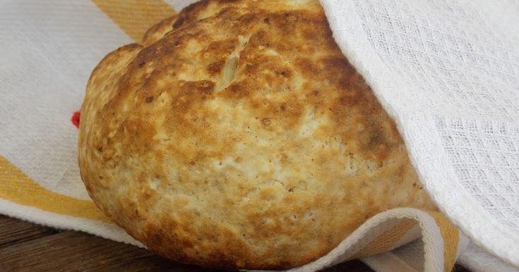 Sütőporos élesztőmentes mester kenyér