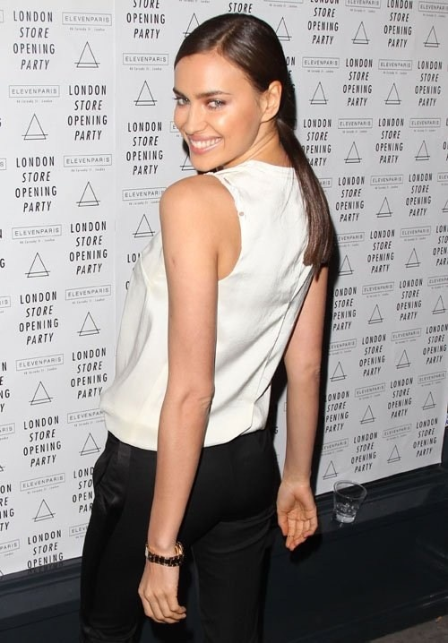 Irina Shayk at Eleven Paris Store Opening Party in London on April 25, 2013