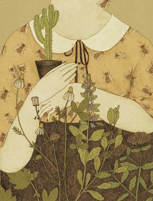 Ilustraciones de Monica Barengo para Womankind magazine.