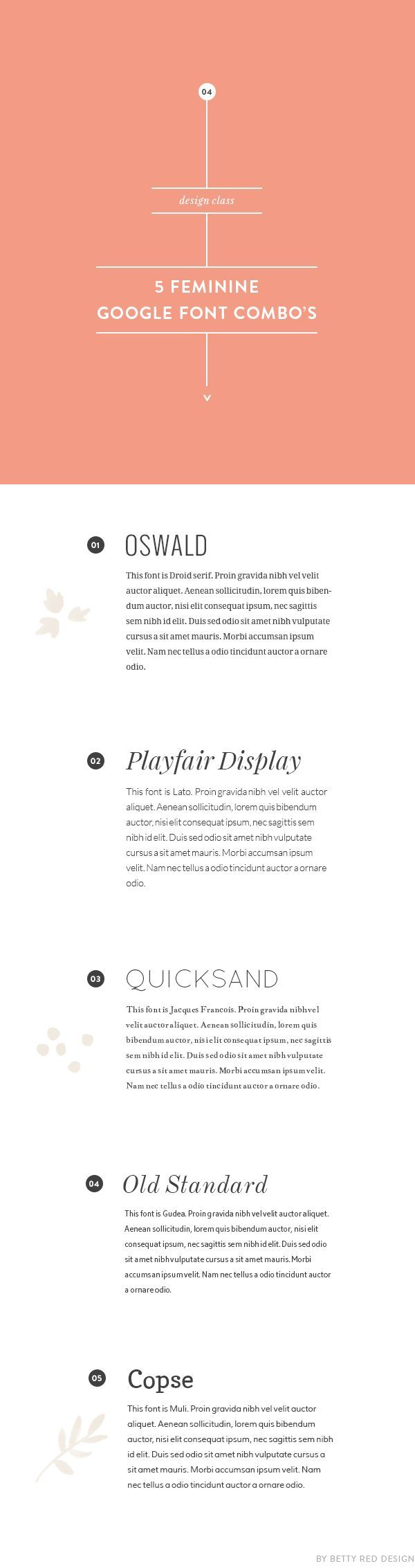 Whether you're a designer like me, or anything from a blogger to a small business owner, we all sometimes struggle when pairing fonts. That's why I quickly put these fonts together today! They're ...