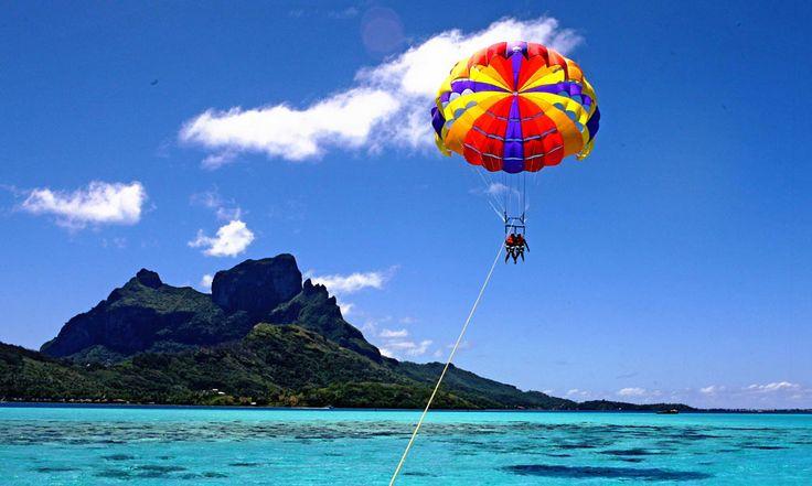 • Go parasailing. ✔️