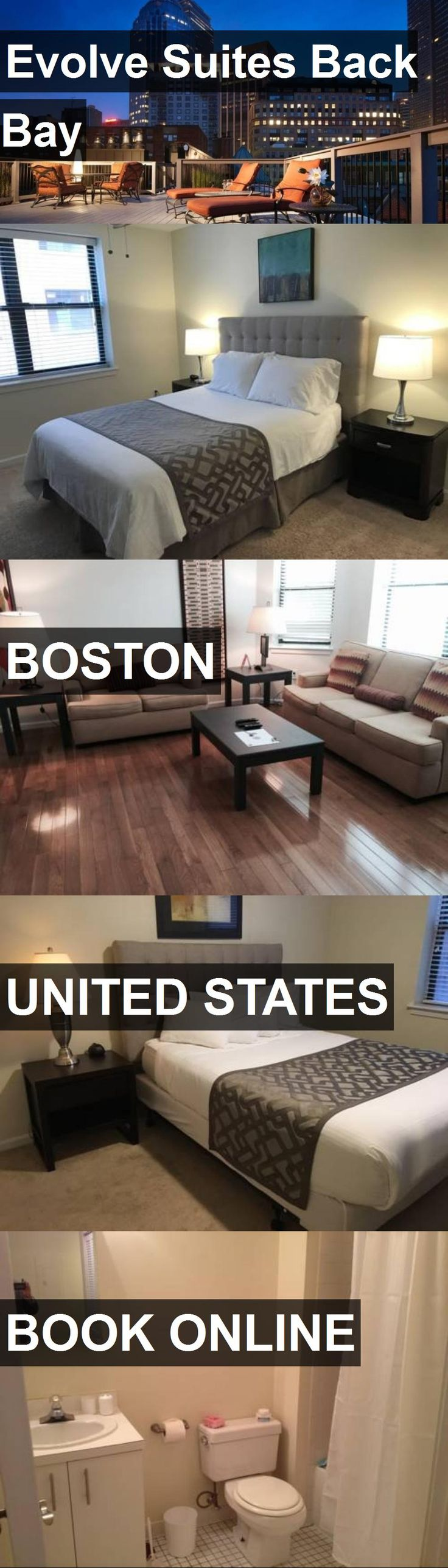 Hotel Evolve Suites Back Bay in Boston, United States. For more information, photos, reviews and best prices please follow the link. #UnitedStates #Boston #EvolveSuitesBackBay #hotel #travel #vacation
