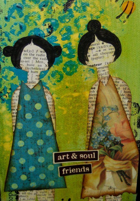 Art  Soul Friends Collage. #sheartgirls