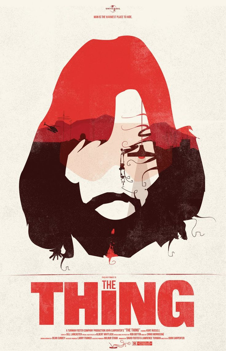 Poster design john foster - The Thing Movie Poster Fro Design Co