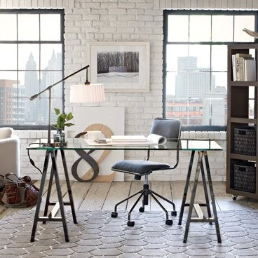 #Office space in white