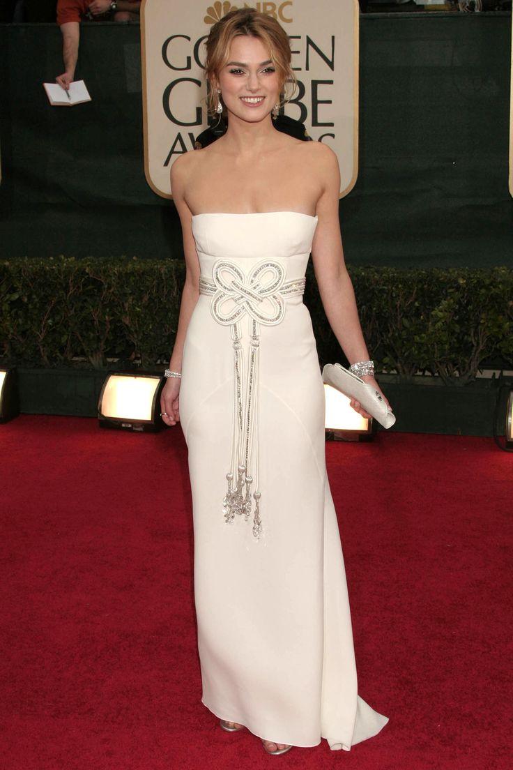 Keira Knightley - Valentino. Golden Globes Awards 2006