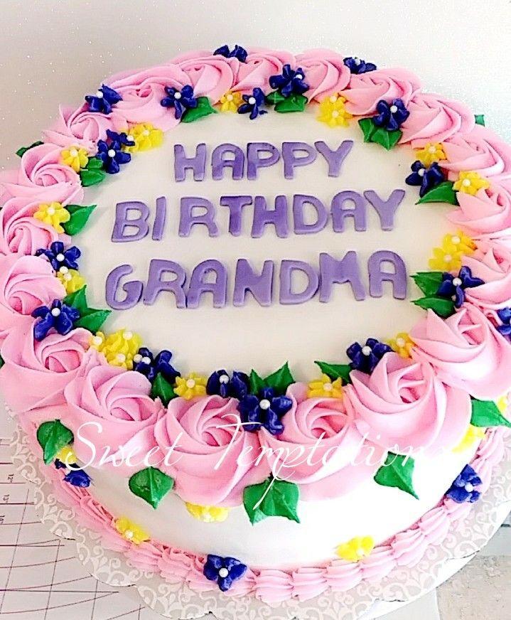 Phenomenal Happy Birthday Grandma Cake Happy Birthday Grandma Presents For Funny Birthday Cards Online Chimdamsfinfo