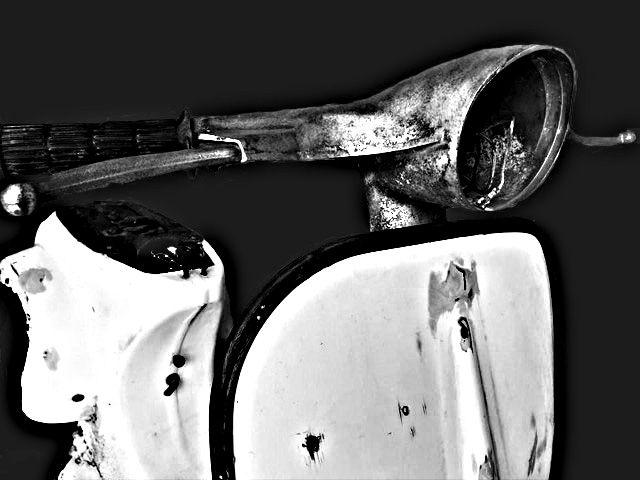 vespa...in black & white!