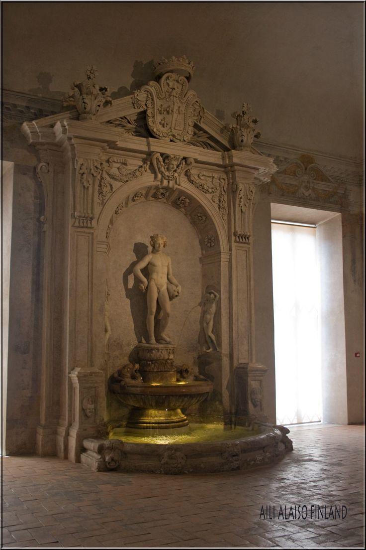 Bellissimo salone Palazzo Barberini, Rooma Italia  Photo Aili Alaiso Finland