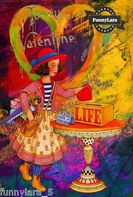 Valentines-Day-Love-Girl-Handmade-Greeting-Card-For-Him-Friend-Gift-by-FunnyLara