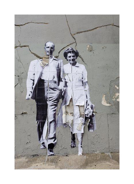 Street Art, Montmartre | Flickr - Photo Sharing! Leo & Pipo