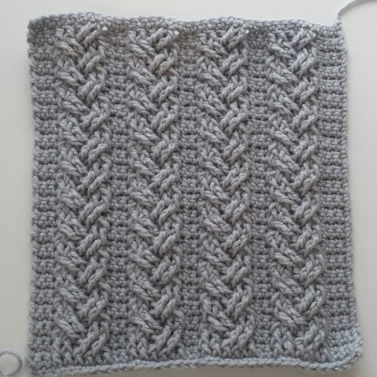 Best 50+ Crochet Cables images on Pinterest | Crocheting patterns ...