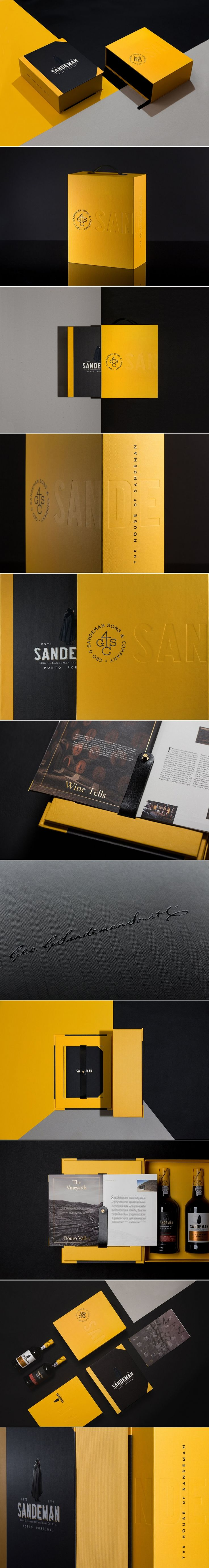 Check Out This Elegantly Designed Trade Book For Sandeman — The Dieline | Packaging & Branding Design & Innovation News