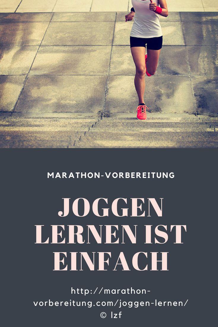 Joggen und laufen lernen ist ganz einfach http://marathon-vorbereitung.com/joggen-lernen/ #joggen #laufen