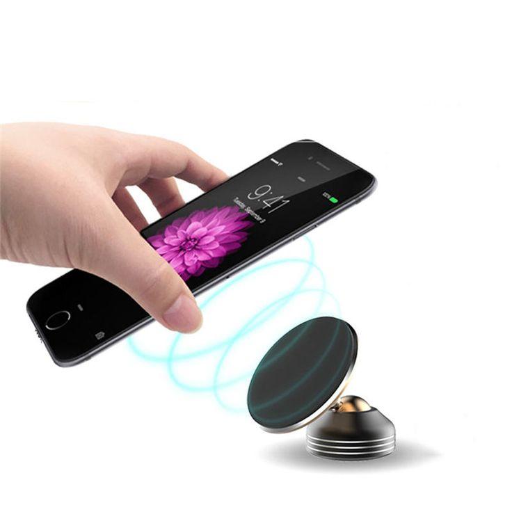"Bakeeyâ""¢ 360 Degree Rotation Nano Adsorption Car Holder Dashboard Wind Shield Mount Phone Stand"