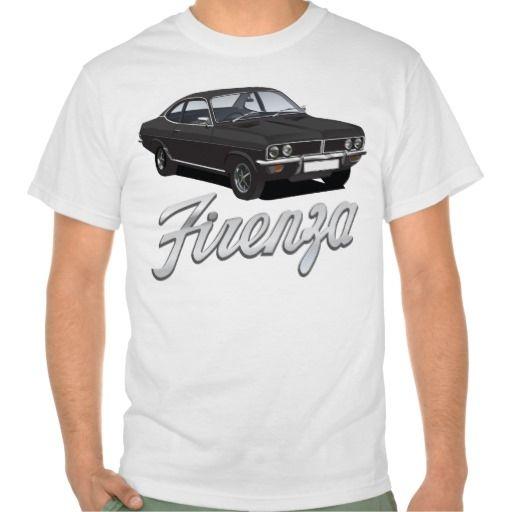 Vauxhall Firenza black with text  #vauxhall #firenza #vauxhallfirenza #automobile #tshirt #tshirts #70s #classic