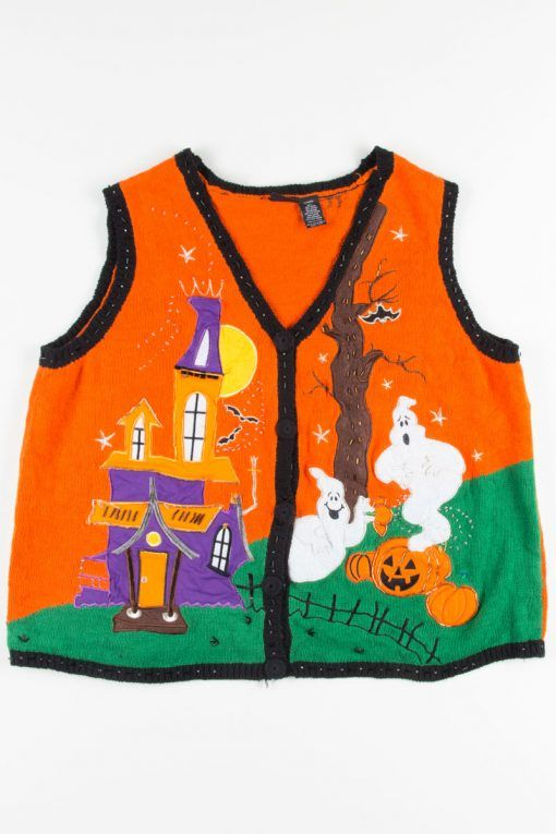 07deac4e554 These haunted house Halloween vests are some of our favorite designs!