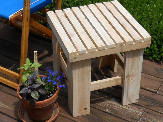 Adirondack side table plans woodworking projects plans for Adirondack side table plans