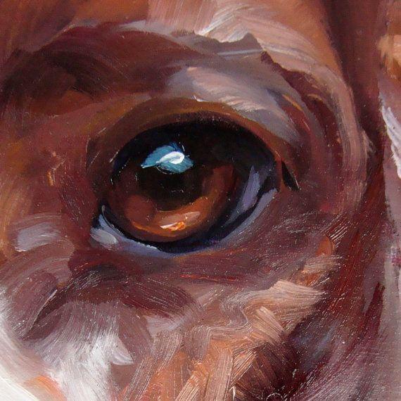 Spotted Spaniel CUSTOM Pet Portrait Oil by puciPetPortraits
