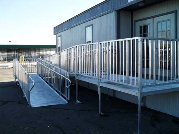 11 best titan ada wheelchair ramps images on pinterest for Modular homes handicapped accessible