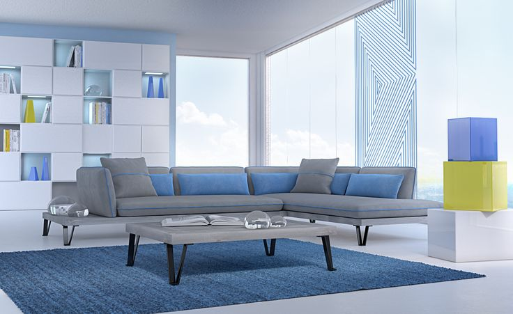 Living room 3D still image by DVSFurniture