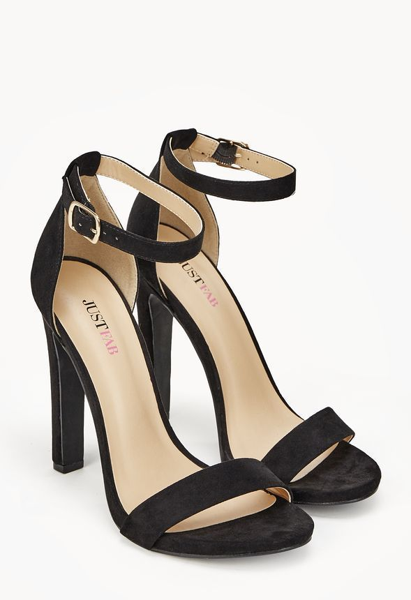 e4374d810f3 Kati Block Heel Sandal in Black - Get great deals at JustFab ...