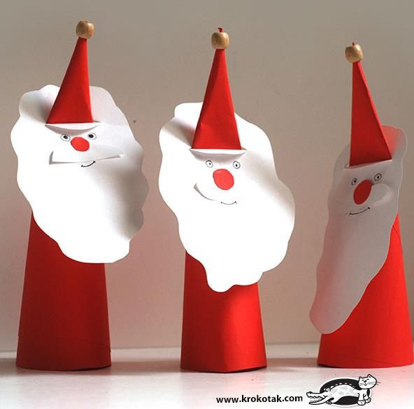 PAPERMAU: Christmas Time - Santa Claus Papercraft Project For Kids - by Krokotak