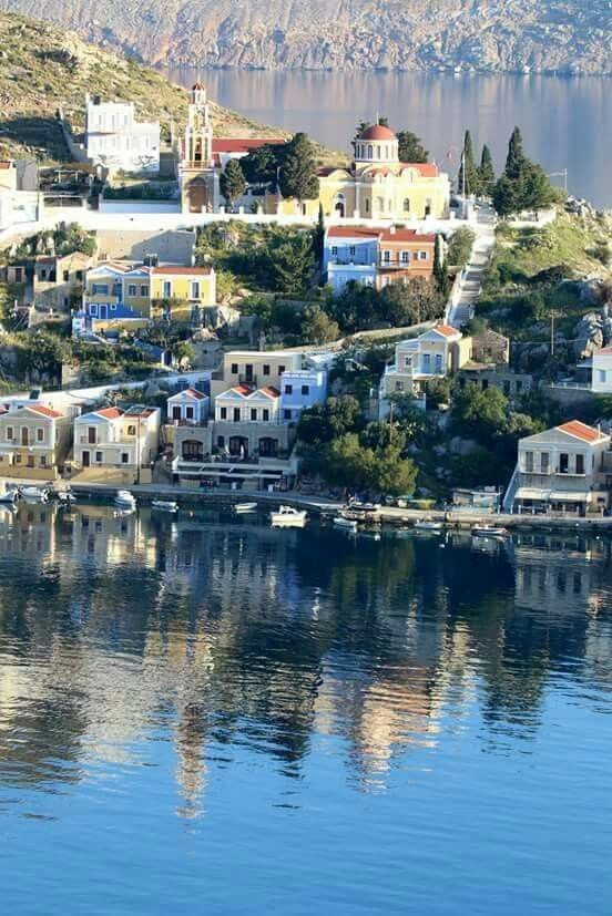 Symi island, Greece. - Selected by www.oiamansion in Santorini.