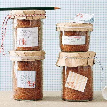 Möhren-Kokos-Kuchen im Glas