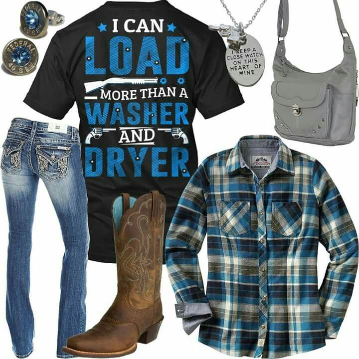 Love this shirt.. it's definitely fit for a country girl like me..